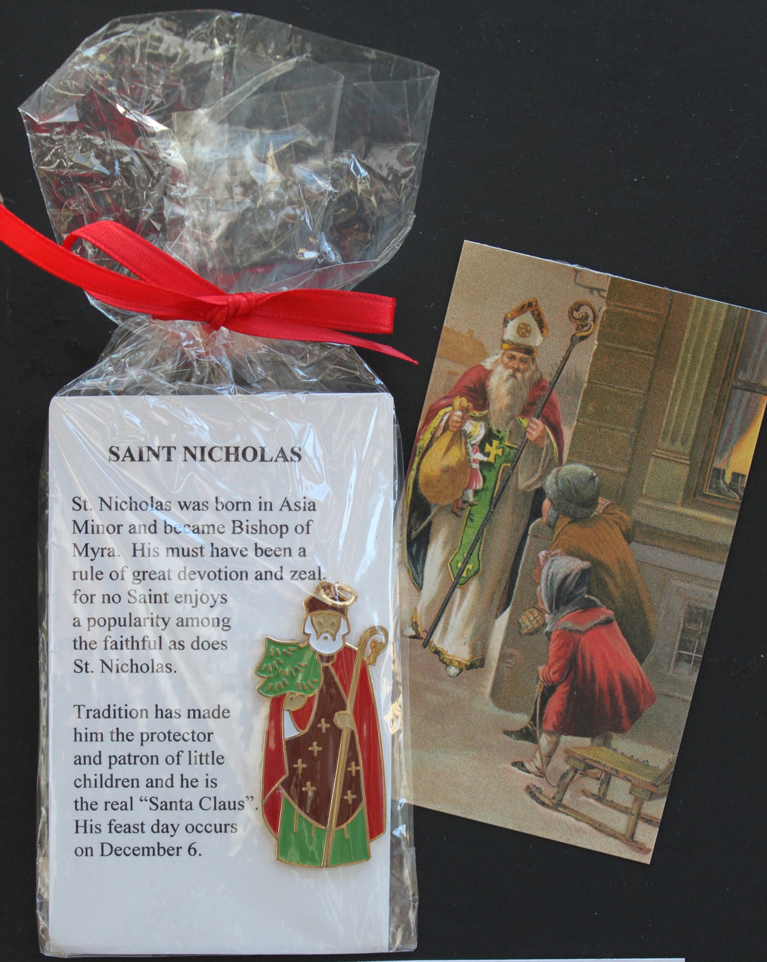 St. Nicholas Ornament & Prayer Card
