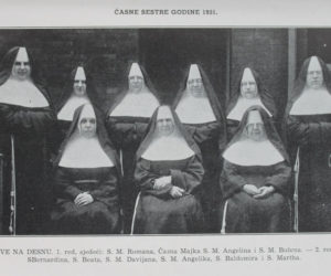 First Franciscan Teaching Sisters at St. Nicholas School, 1931