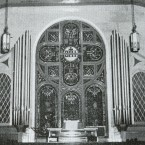Pipe organ installed in 1952