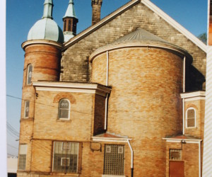 1980s Rear of the Church (Sanctuary)