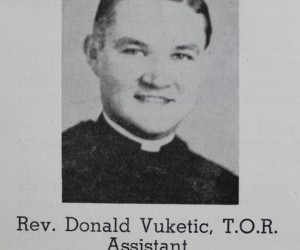 Asst. Pastor 1953 -1954 Rev. Donald Vuketic, 1953 - 1954
