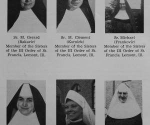 Sisters from St. Nicholas Parish 1954