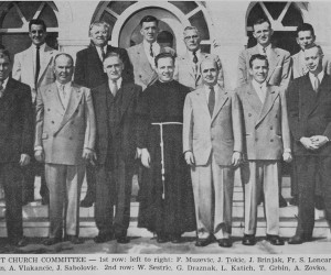 1954 Church Committee & Fr. Loncar