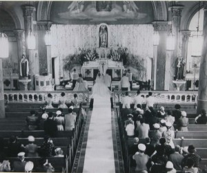 1955 Wedding Mass
