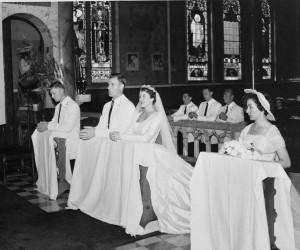 1956 Wedding Mass