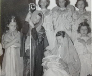 1950s Christmas Pageant