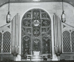 1953 New Pipe Organ Installed with 20 stops & 1,100 pipes