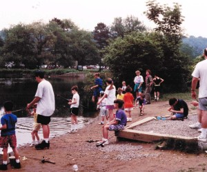 1992 Youth Group Picnic at North Park