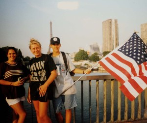1997 World Youth Day -Church Youth Group in Paris, France to meet the Pope
