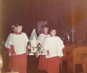 1973 May Crowning Procession