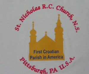 2000 Logo for St. Nicholas Church N.S. apparel