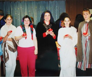 2001 Parish Seder Meal - CCD high school students