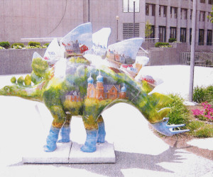 2003 Pittsburgh Dino-Mite Days - Troyus Hillosaurus featuring St. Nicholas Church N.S.