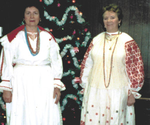 2004 St. Nicholas parishioners who sang at downtown Pittsbsurgh Creche
