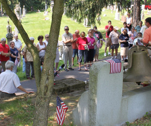 2012 Memorial Day Service at cemetery