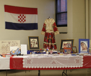 2012 Croatian Display at Most Holy Name Croatian Mass & Dinner