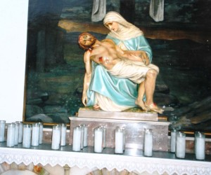 Sorrowful Mother in Vestibule Chapel