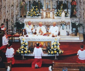 2002 Fr. Grgo Sikiric's Golden Jubilee Mass, June 2