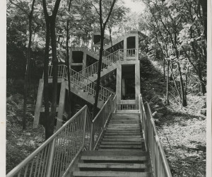 1935-1980 - City steps from Troy Hill to E. Ohio St at 31st St.  MSP285_B015_F010_I01 *