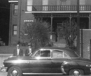 1951 - Frankovich House - 1134 E. Ohio Street, Chevy automobile