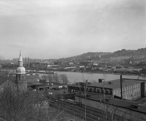 1962 - Pittsburgh Wool Co., National Lead Co., and St. Nicholas Church  715.112209_1.CP **