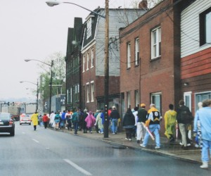2002 - Walking tour of Mala Jaska - Earth Day Event