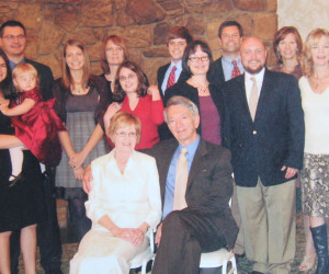 Pavlic's -Dr. George, Mary Ann and Family - 2010