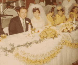 Ribar-Gomez Wedding - 1969