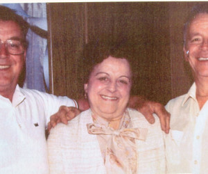 Yuretich siblings, Rudy, Mary Hahn  & Ed - 1990s
