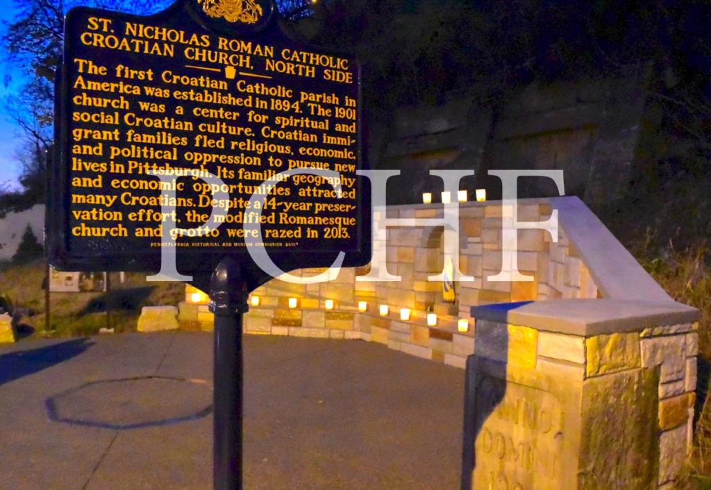 WATERMARKED 1 Note card PA Marker and Luminaria at Hisgtoric Site%206[1]